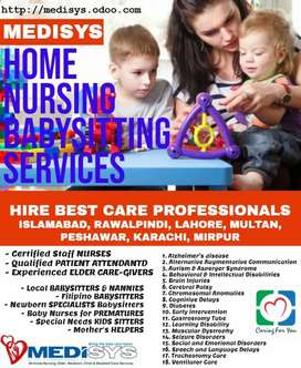 Hire reliable and experience babysitter, Nanny, maid, cook, nurse,