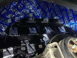 Peredam mobil pasang di rumah Sk137