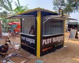 booth container atau semi container sesuai kebutuhan anda by papip.id