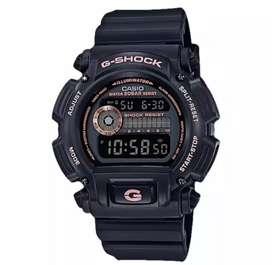 Casio G-Shock DW-9052GBX-1A4DR Men Black Digital Display Dial