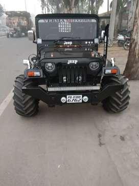 Mahindra Jeep modified