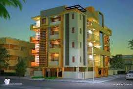Each floor 2 Flats no common walls. like semi independent House
