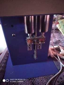 Round cotton wicks machine