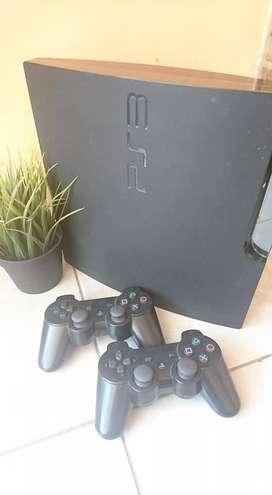 PS3 Slim 500GB+ 2 Stik fullset