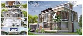 Jasa arsitek khusus rumah mewah di Bontang