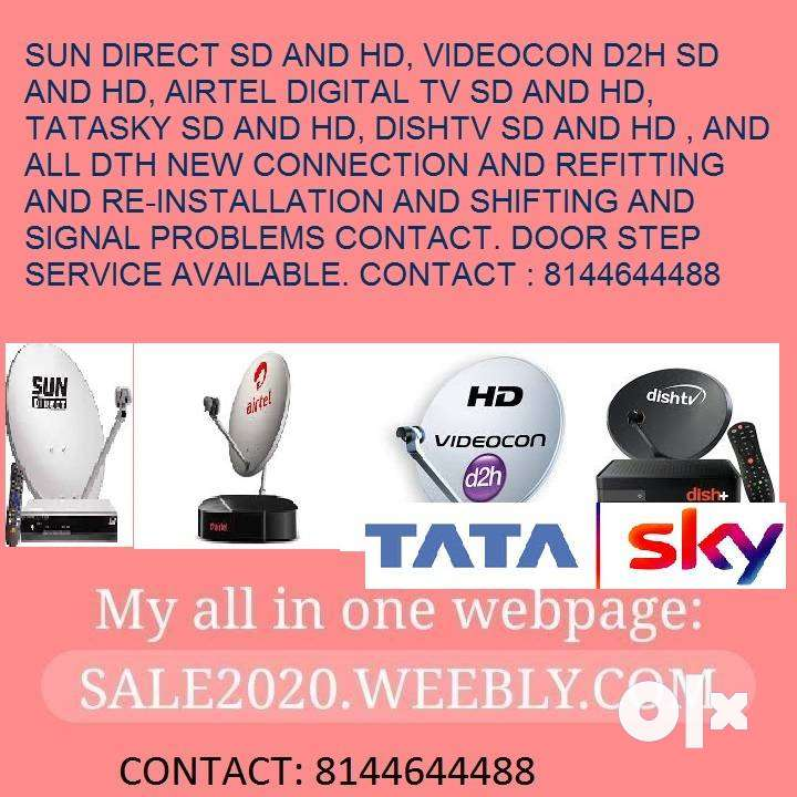 TATASKY HD  REFITTING CONTACT : , MADURAI.					DOOR STEP SER