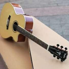 Gitar akustik elektrik Taylor natural