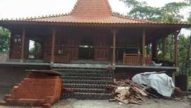Joglo Pendopo Kayu Jati Tumpangsari Ukir, Rumah Joglo Gebyok Ukiran
