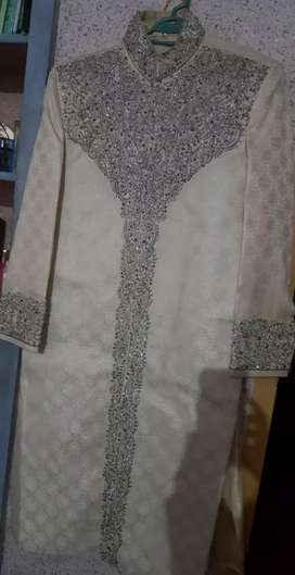 Sherwani with khusa