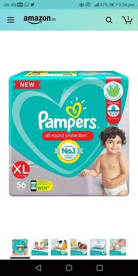 Pamper fresh XL 56 fresh piece