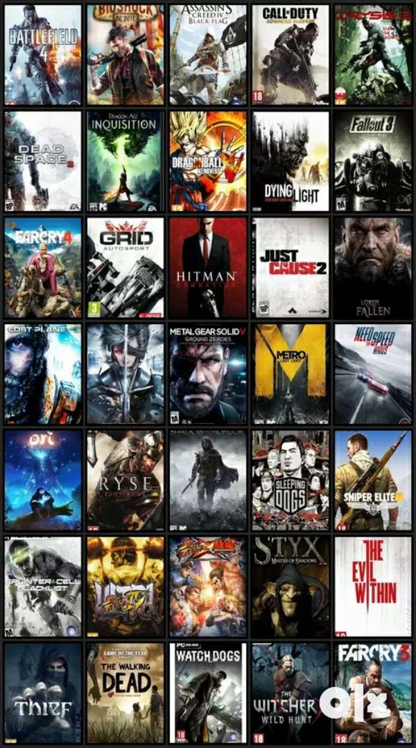 Any pc games 0