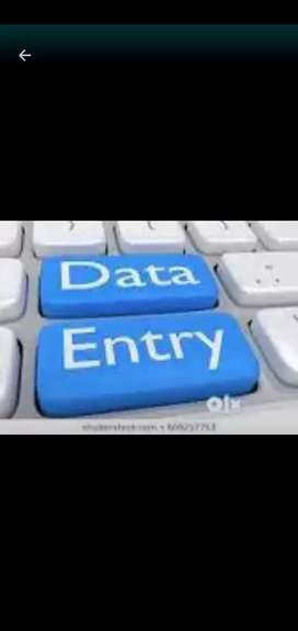 Simply data entry back office