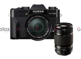 Kredit Fujifilm X-T20 Black Kit 15-45mm + XC50-230mm