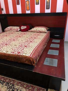 Double Bed along with mattress