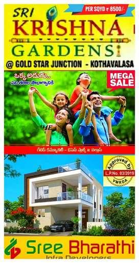 KOTHAVALSA (Gold Star junction)GATED COMMUNITY HOUSING PROJECT