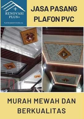 Borongan pasang plafon pvc