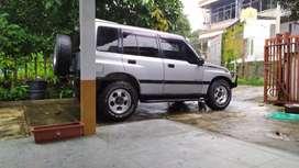 Escudo taun 96, manual, pajak jalan, plat Z Garut