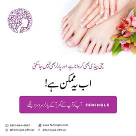 Makeup waxing at home in Lahore