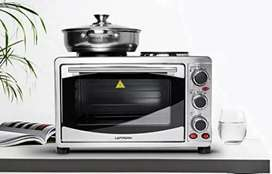 48 Liter Baking & Toaster Oven With Hot Plate, Toaster, Griller, Mixer