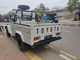 Toyota hardtop diesel pickup 4x4 th 78 barang langka