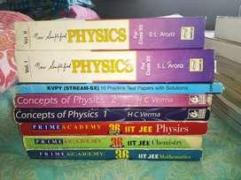 JEE preparation books