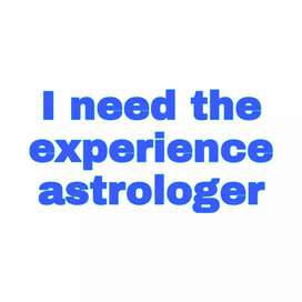 I need the 3 years experience astrologer