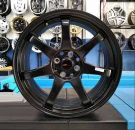 Velg HSR GTR SPORT R17 black Avanza, Xenia, Livina, Fiesta, Mobilio