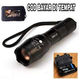 TaffLED Senter Cree XM-L2 8000 Lumens (paket komplit)