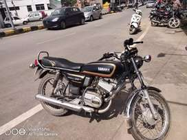 Very well maintained yamaha rx135.