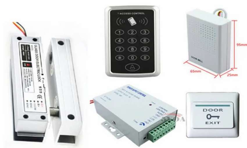 RFID & PASSWORD ELECTRIC DOOR ACCESS CONTROL SYSTEM 0