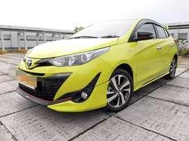 Toyota Yaris S TRD Manual 2018 Plat F Tangan 1 Ganjil.