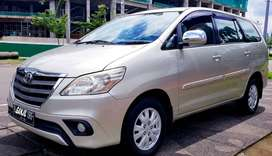 Grand Innova 2014 G bensin at silverdp20jt