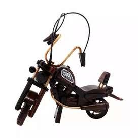 Miniatur kayu motor Hurley kecil, besar dan jumbo