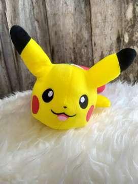 Boneka Pokemon Sun Moon Christmas Pikachu Socks Banpresto