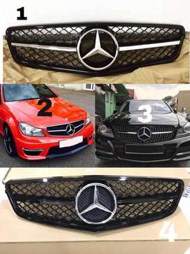 Mercedes Benz C class W204 AMG Grill