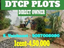 Saravanampatti kovilpalayam near Dtcp plot sale