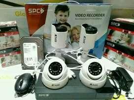 Paket Murah Harga Peromo 2 kamera Cctv ples Pasang