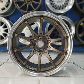 Jual Velg Mobil Avanza, Yaris, Xenia dll Type HIROSHIMA R17 HSR Wheel