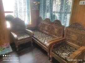 Walnut sofa on sale.
