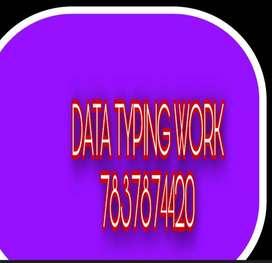 Online work Make minimum RS.5,000  per week from data entry Job