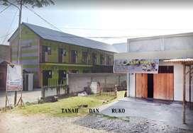 Dijual Cepat Ruko 1 Pintu dan Tanah kosong di Samping