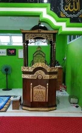 mimbar masjid murah meriah