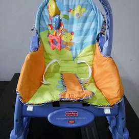 Kursi FISHER PRICE rocker feeder 3 in 1