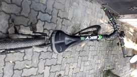 Kawasaki Sky All Terrain Mountain Bicycle with Gear & Accessories
