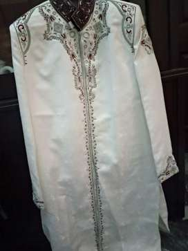 Sherwani used for 2 hours
