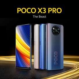 PROMO Poco X3 Pro 8/256 NFC BNIB grs resmi 1th cod Bdg kota FreeOngkir