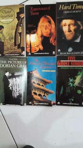 Buku impor collins english library 6 buku
