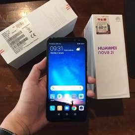 HP Huawei Nova 2i 4/64 Black Murah Pemakaian Cewek