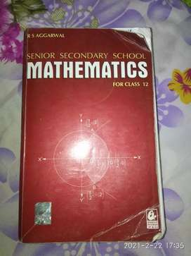 Senior Secondary School Mathematics by R S Aggarwal for Class 12