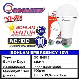 BOHLAM SENTUH 10 WATT / LAMPU EMERGENCY GOODCHIP GC-E4610